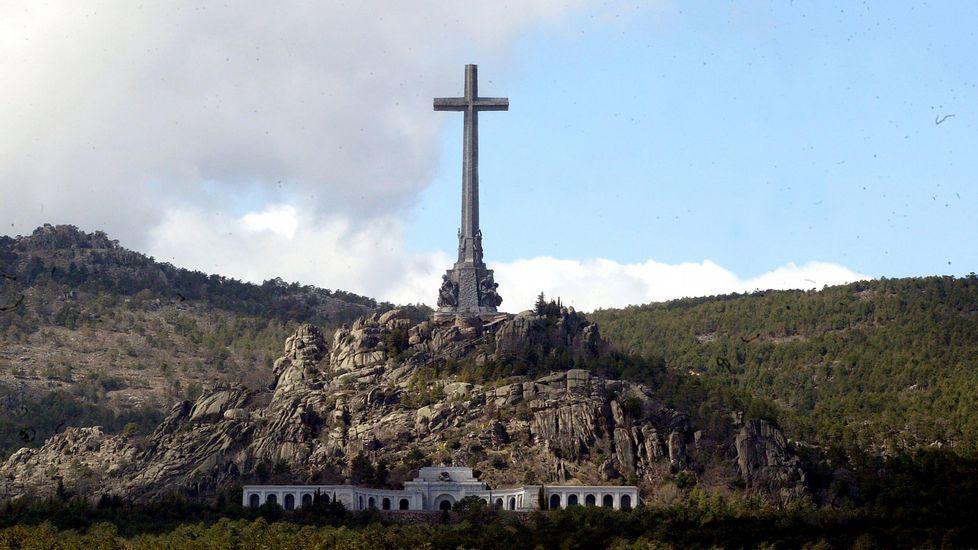 La respuesta de Wyoming a su querella por una broma sobre el Valle de los Caídos.El Valle de los Caídos, en el interior de cuya basílica descansan los restos de más de 33.400 víctimas de la Guerra Civil