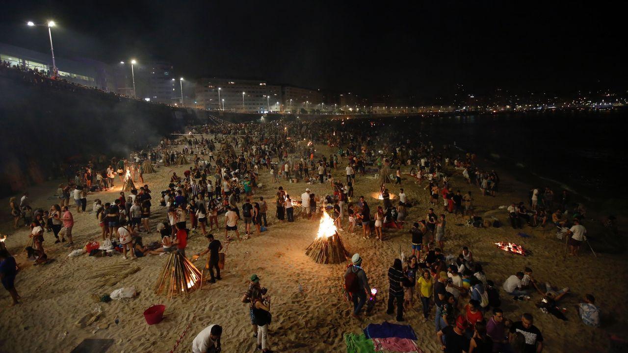 .Noche meiga en A Coruña