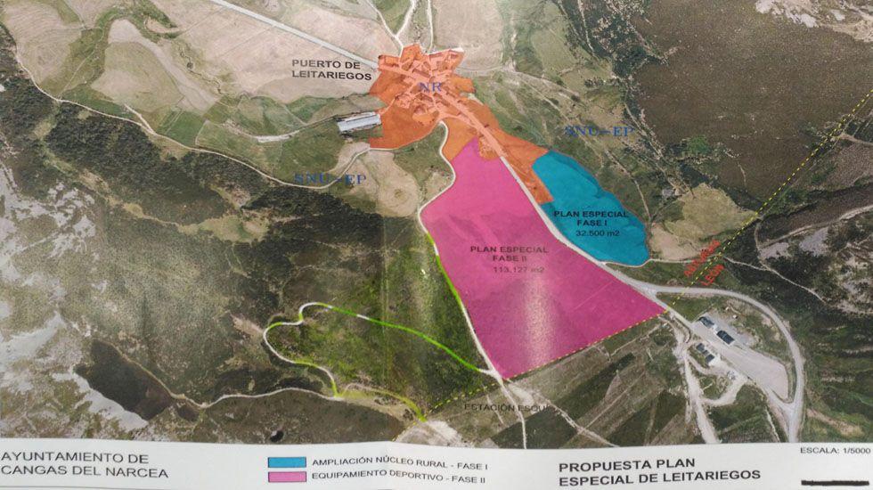 Planos de la propuesta del Plan Especial de Leitariegos