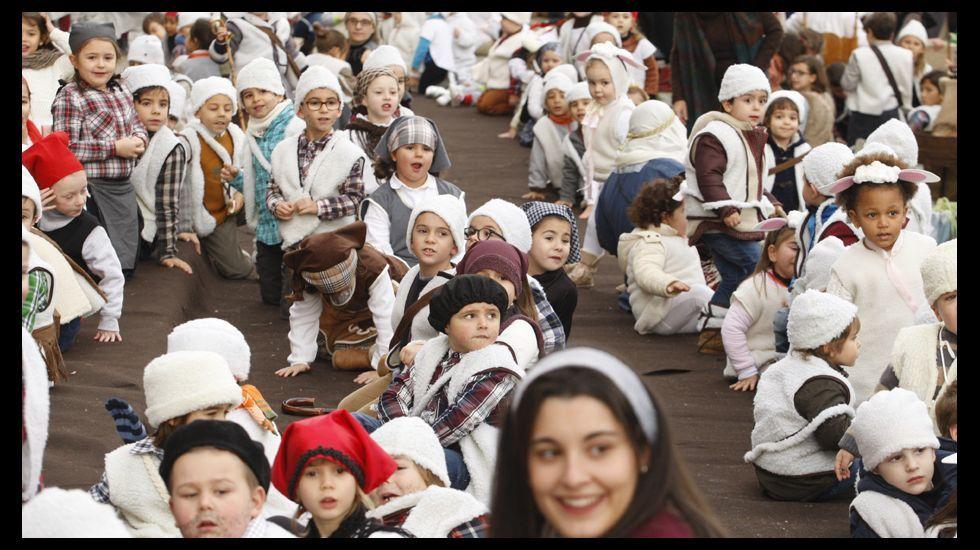 Todas las fotos del belén viviente de los Escolapios en Monforte