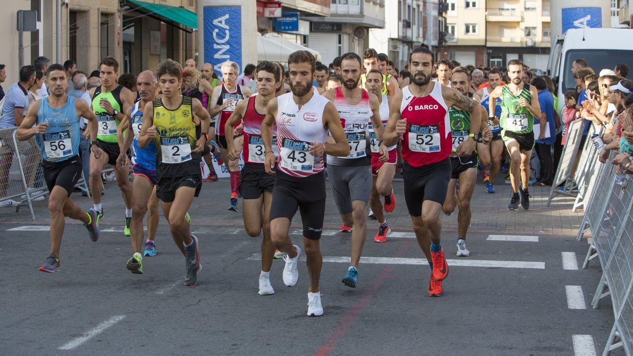 ¡Búscate en el campeonato gallego de 5 km en ruta y en la carrera popular de Vimianzo!.