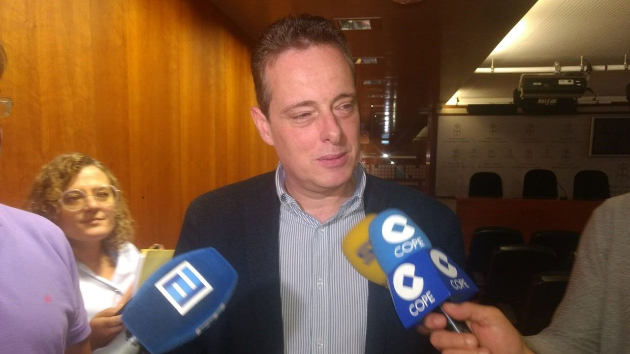 Marcelino Marcos, portavoz del Grupo Parlamentario Socialista