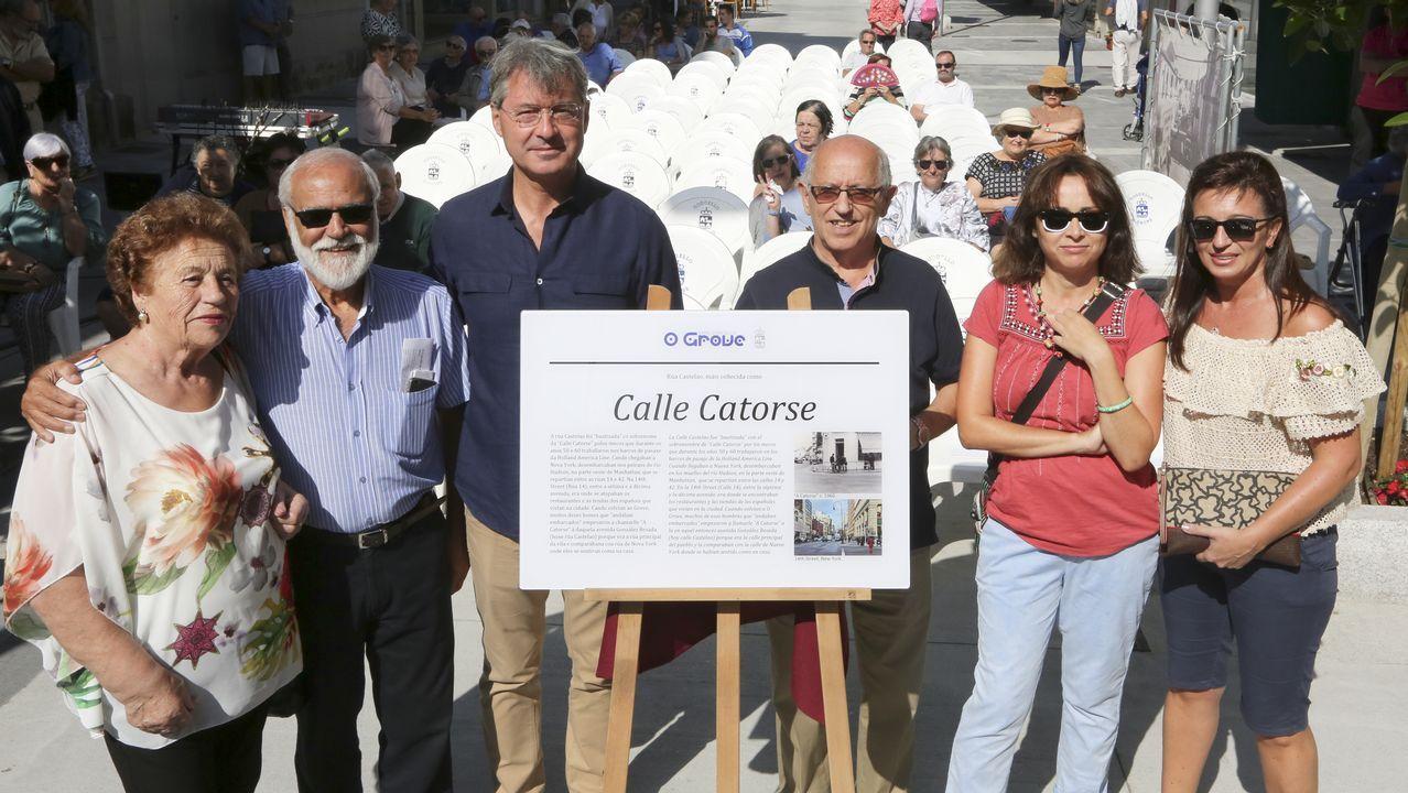 El coro de la Fundación Princesa, de Asturias a Colombia.Melendi