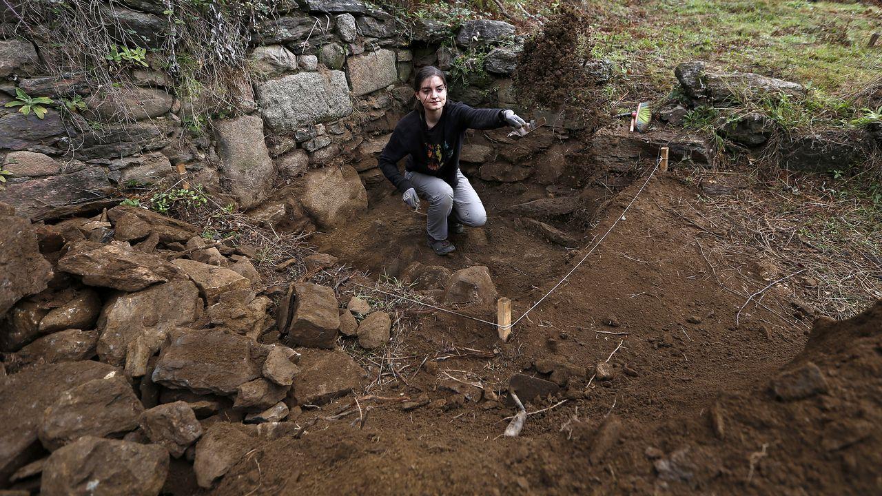 Los expertos confirman que en A Miserela hubo actividad altomedieval.
