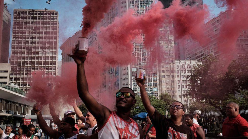 «Esto supondrá un antes y un después en Brasil».Protestas contra el nuevo presidente en São Paulo