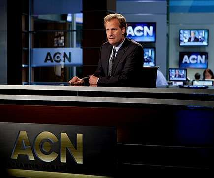 Sorpresas en los premios Emmy.El actor Jeff Daniels protagoniza «The Newsroom».