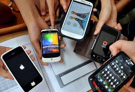 En la actualidad hay una amplia variedad de «smartphones».
