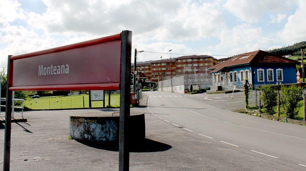 Salida del juicio por el parricidio de Monteana en la sede de Gijón de la Audiencia Provincial de Asturias.Monteana