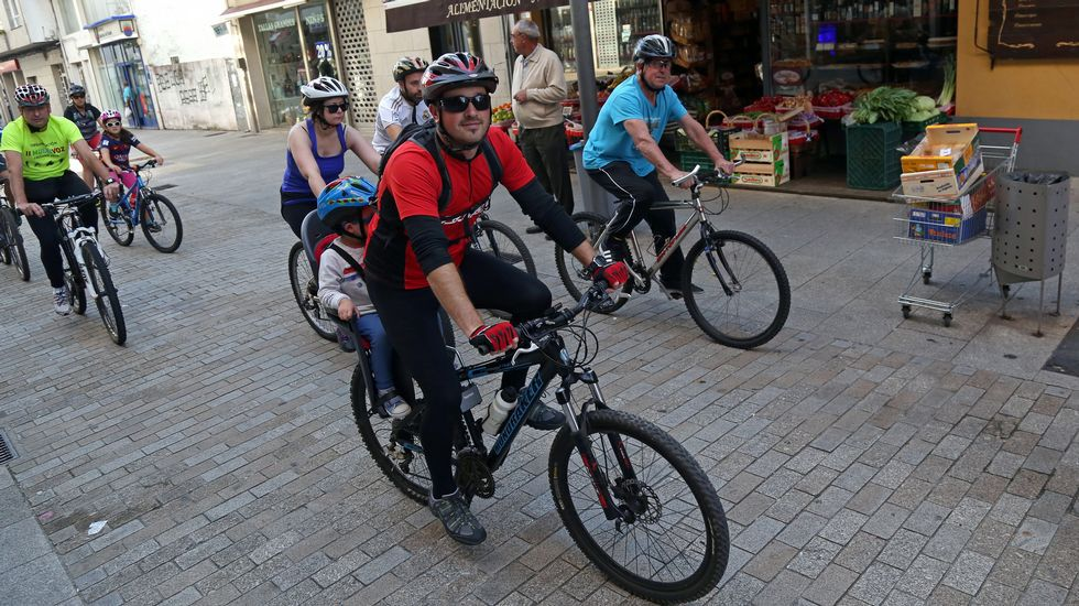 dia da bicicleta en boiro.
