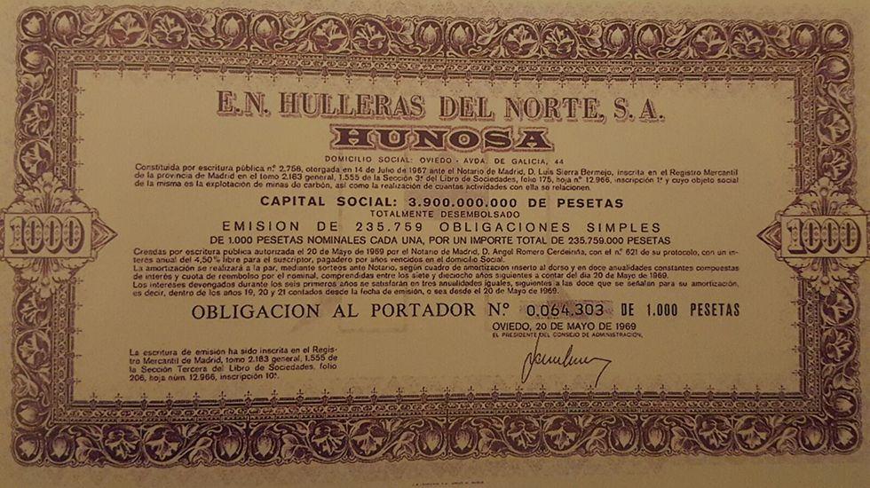 .Acción de Hunosa de 1969