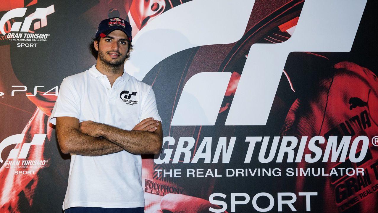 Fernando Alonso durante el Gran Premio de Azerbaiyán.