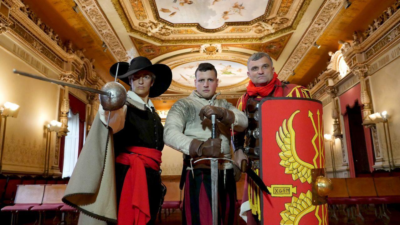 «Hoy en día hay pocas formas de entrenar mejores que las de los legionarios romanos».La actriz Katheryn Winnick, caracterizada como Lagertha