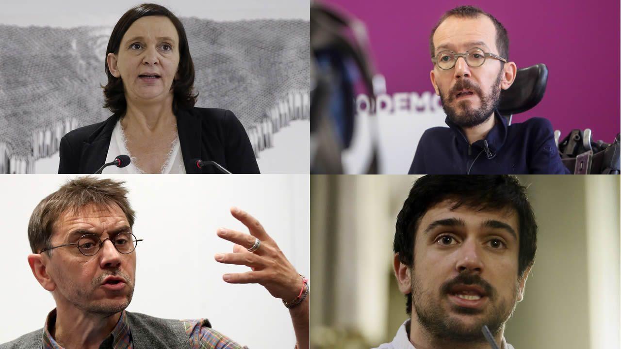 La lista de caídos en Podemos