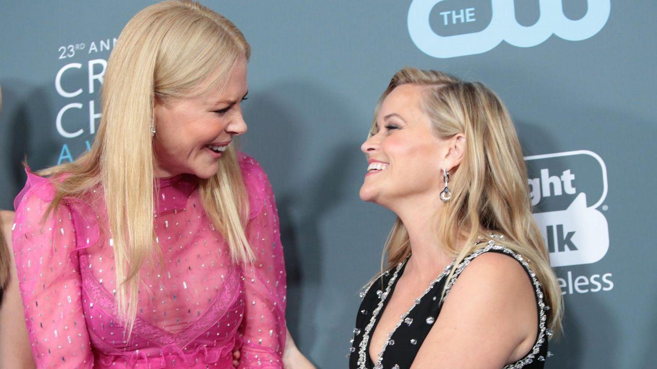 Nicole Kidman y Reese Withersponn preparan proyectos para HBO, Hulu y Apple