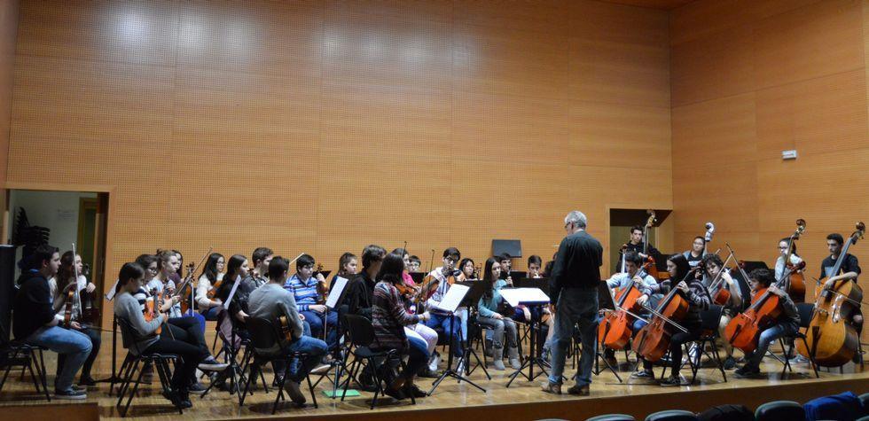 .La actividad musical en el Conservatorio Profesional de Música es enorme a lo largo de la presente semana.
