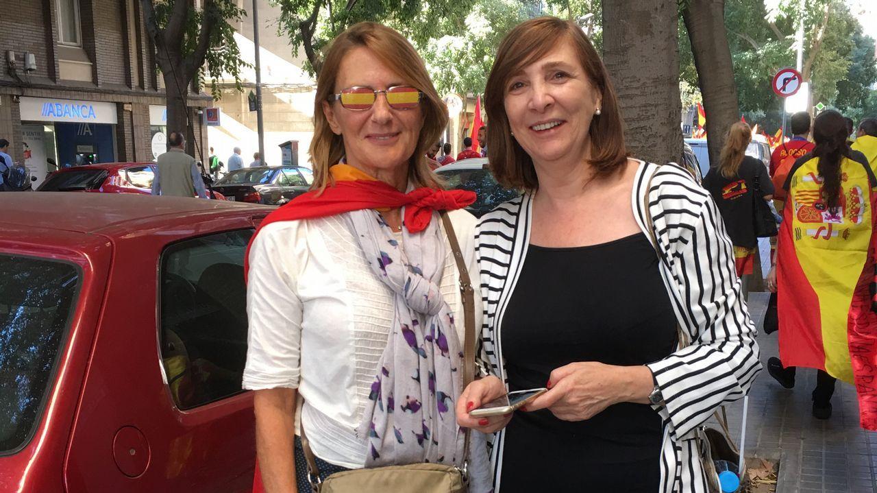 Elena Durán e Isabel Casanueva. A Coruña.