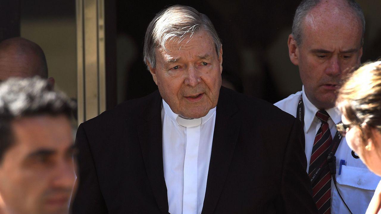 El cardenal George Pell fue apartado temporalmente hace 18 meses