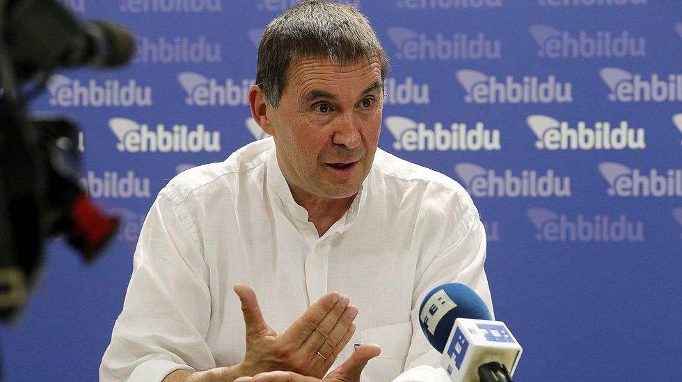 La Junta Electoral decide que Otegi no puede ser candidato.