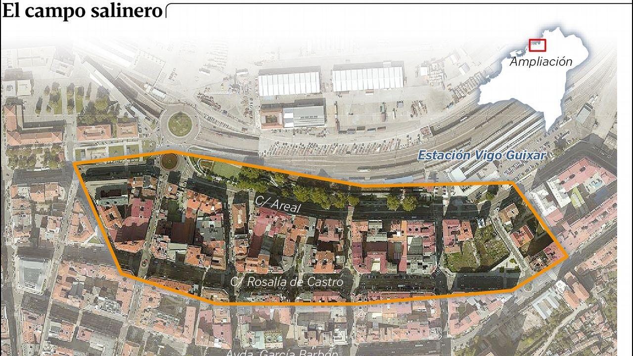 Las salinas romanas en Vigo
