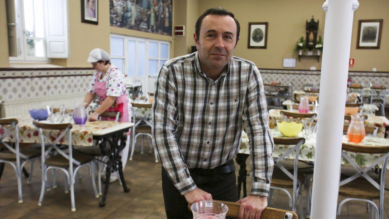 Antonio Tostado, presidente de la Cocina Económica