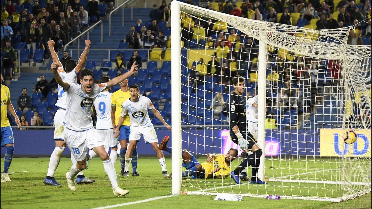 Las fotos del Las Palmas - Deportivo