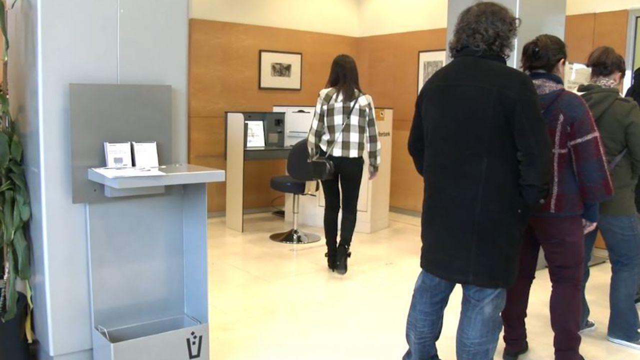 Sistema ARPPA en una oficina de Liberbank