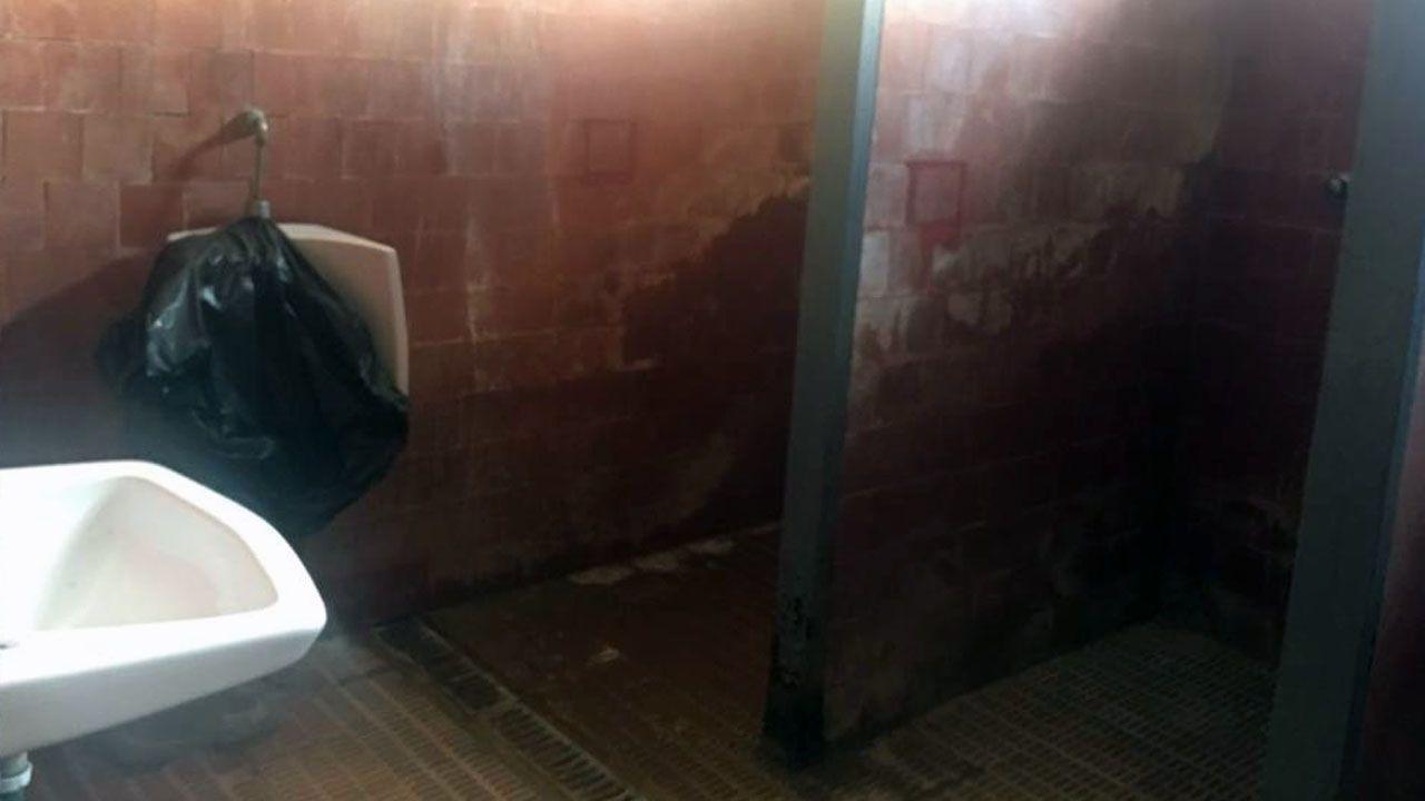 El Polideportivo del cole de Lugo de Llanera