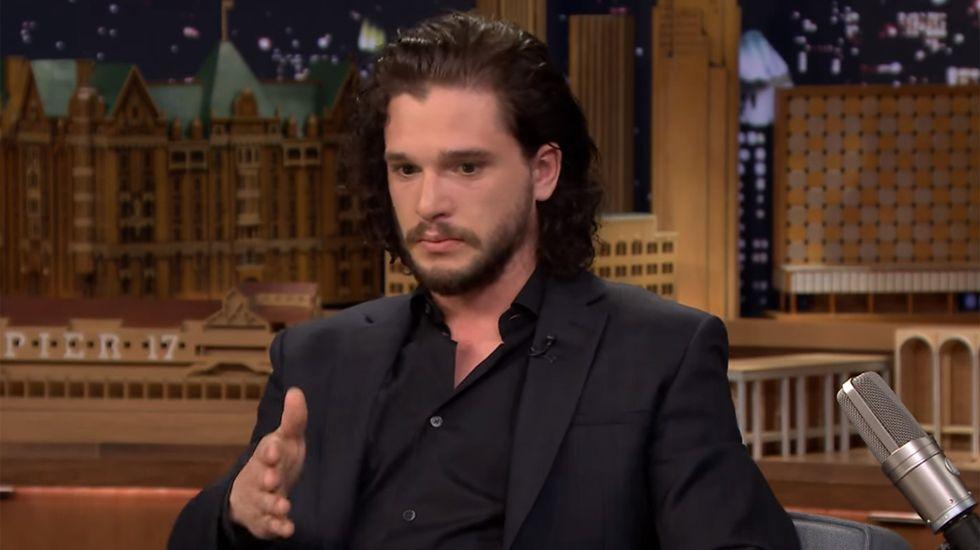 «Juego de Tronos»: La confesión de Jon Snow a Jimmy Fallon