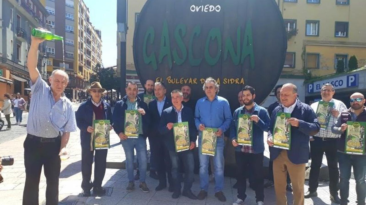 Gascona.Presentacion XIX  'Preba de la sidra'