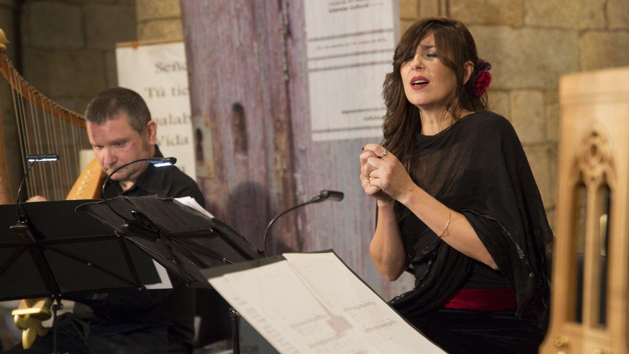 La música medieval regresó a Moraime de la mano del ciclo Espazos Sonoros.Iván Añón y los otros dos acusados durante el juicio que se celebró en el 2008 en la audiencia de A Coruña