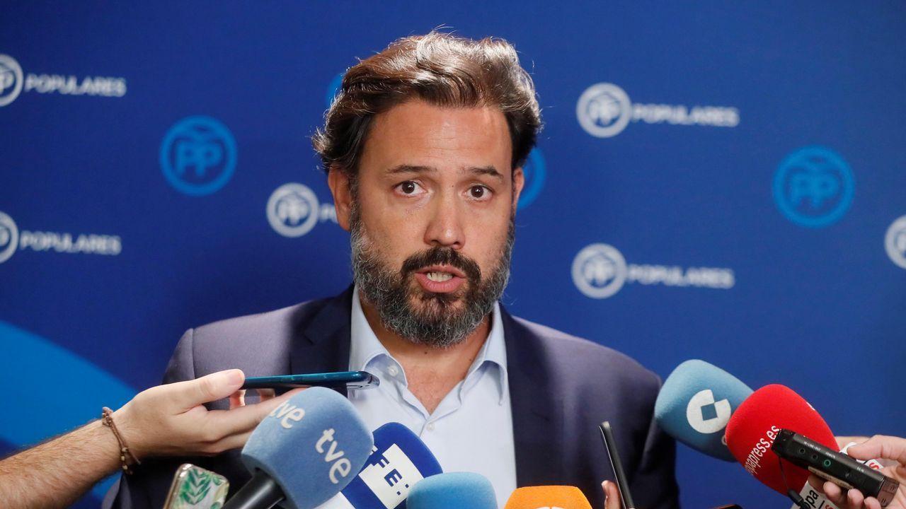 .El portavoz adjunto del grupo popular en el Congreso, Guillermo Mariscal