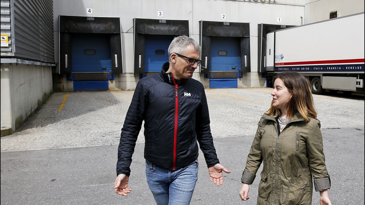 Darío Iglesias y María Márquez, en Frivigo