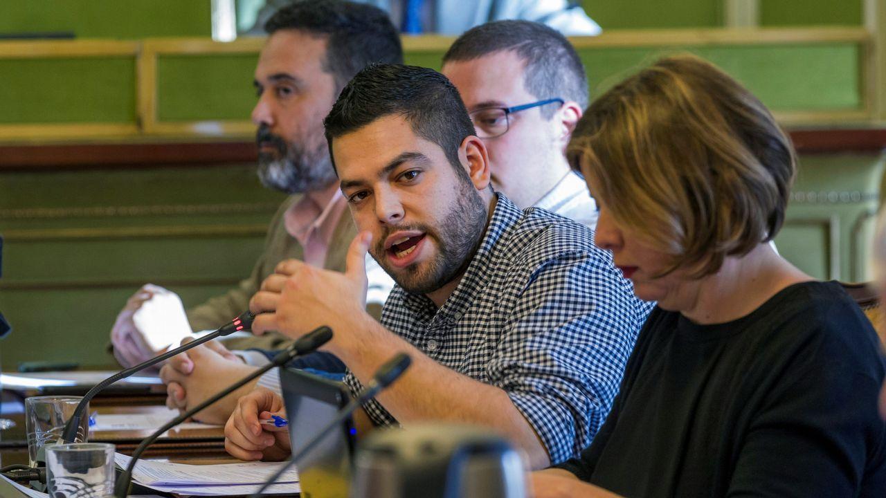 El concejal de Economía del Ayuntamiento de Oviedo, Rubén Rosón