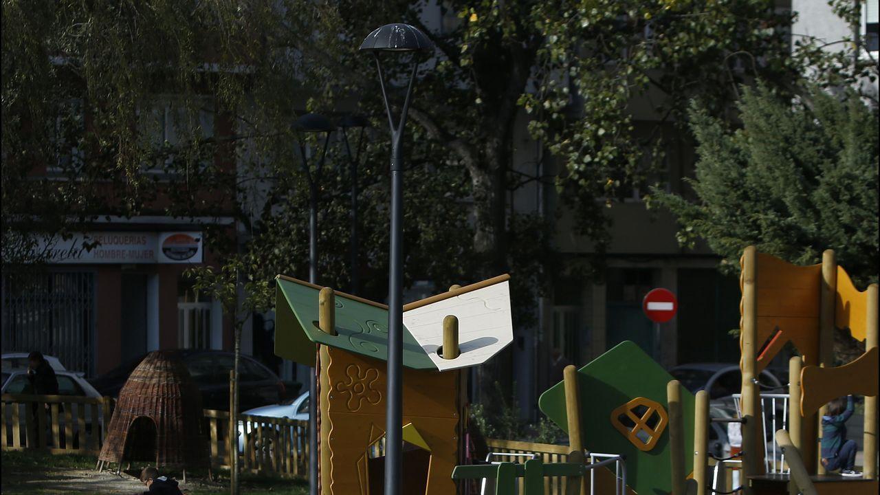 Ambiente de la calle Barcelona por la mañana