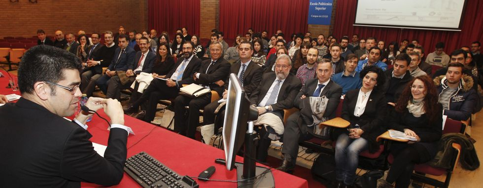 Todos los implicados en el desarrollo de Rozas participaron en unas jornadas, organizadas por la Escola Politécnica.