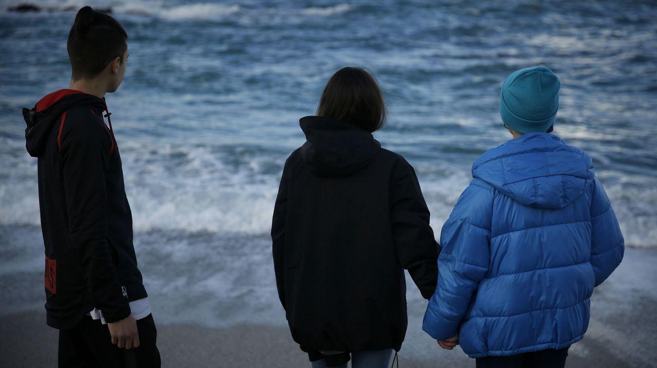 Los copos de nieve se dejan ver en A Coruña y su comarca