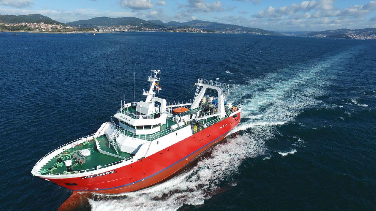 Armón Vigo. El astillero firma el buque José Américo, que es el primero de dos arrastreros contratados por la compañía armadora argentina Moscuzza. Botado en febrero pasado, mide 39,80 metros de eslora y 12 metros de manga, y está previsto que esté operativo en la próxima campaña del langostino