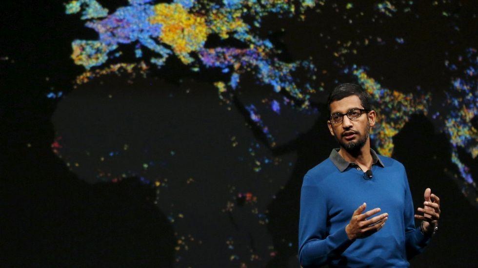 .Sundar Pichai, consejero delegado de Google