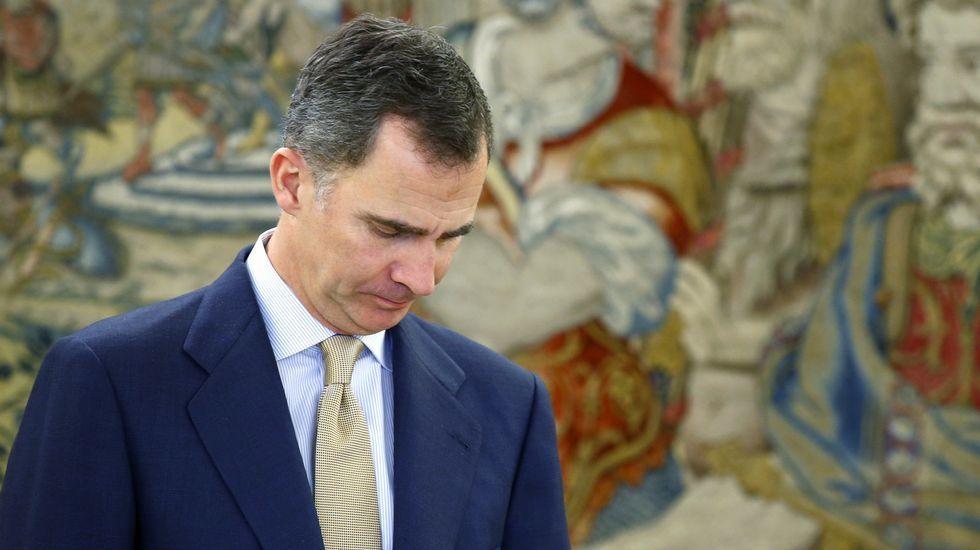 El rey no propone a ningún candidato, lo que aboca a nuevas elecciones.Federico Rubio