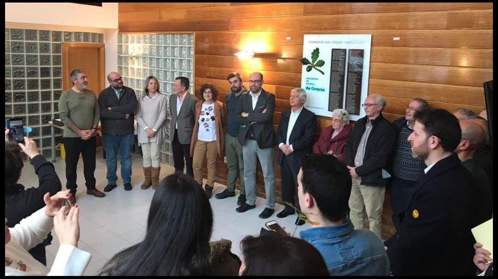 Estreno del espectáculo «Debullando o tempo», de la asociación do Traxe Galego, con la colaboración de Ultreia y A Regionalista de Teo