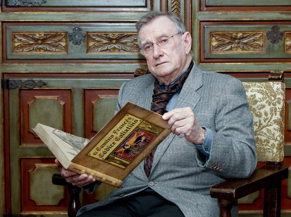 Cándido Pazos presentó el libro la semana pasada