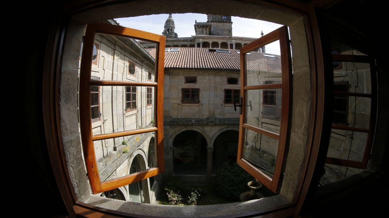 Romería de Santa Minia en Brión