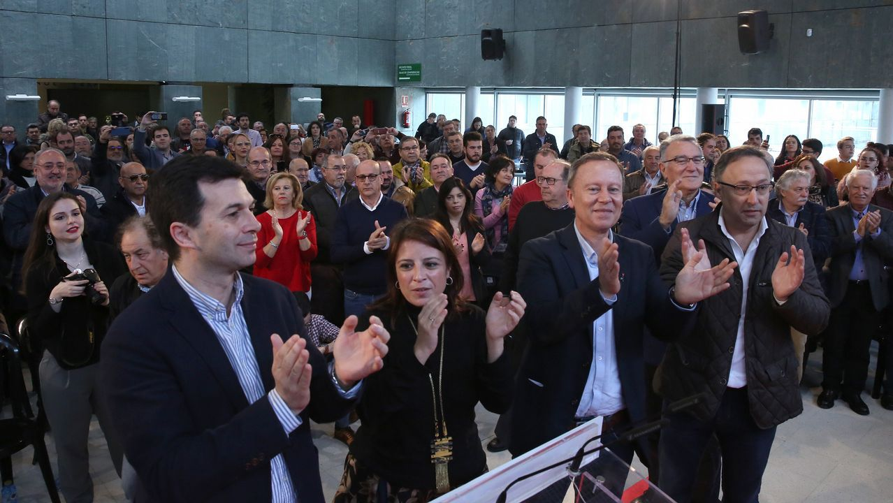 El PSOE trata de reactivarse con un mitin de Adriana Lastra.Los trabajos incluyen el despliegue del ERTMS en Angrois y en todo el trazado nuevo del eje atlántico entre A Coruña y Vigo