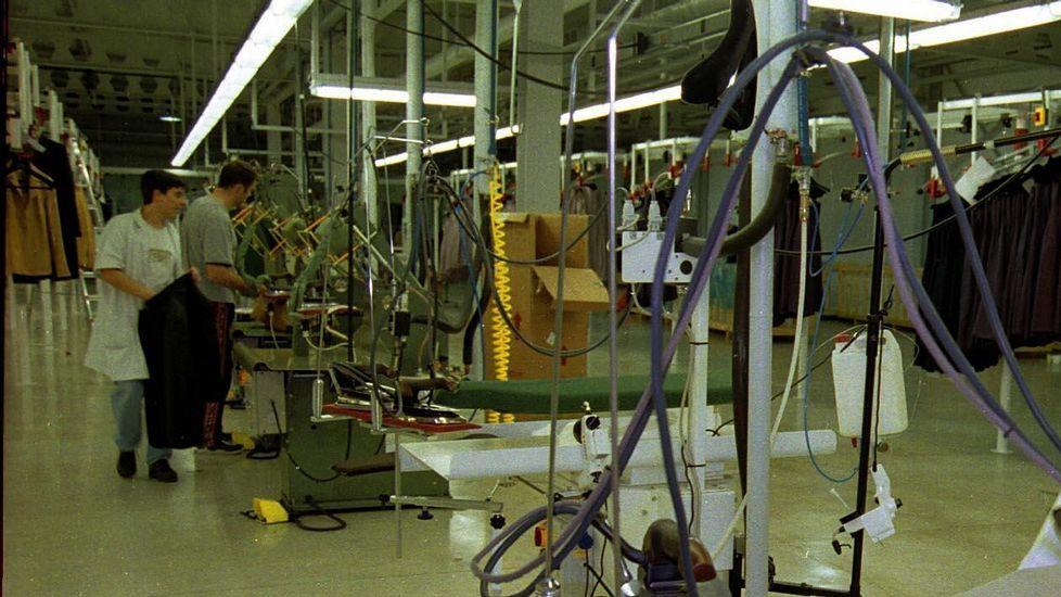 Imágenes de la fábrica Textil Lonia