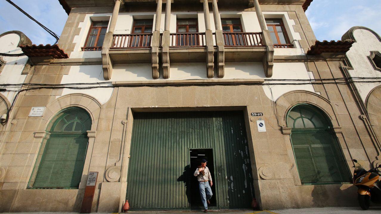 .Fábrica de conservas Albo, en Vigo
