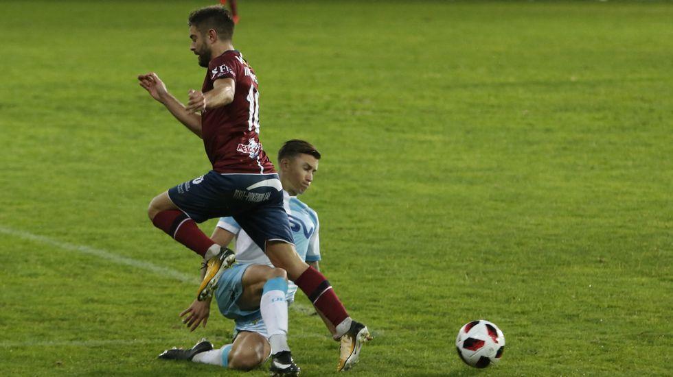 El Pontevedra CF pasa por encima del Adarve