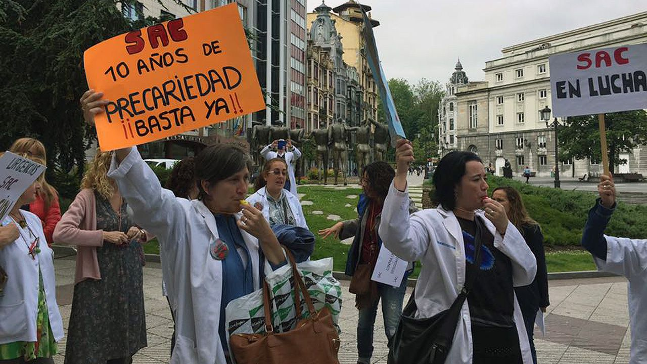 Protesta de médicos SAC