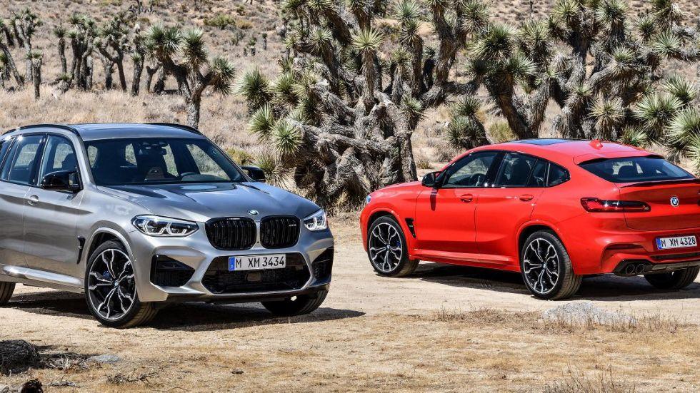 BMW amplía la oferta de sus modelos de altas prestaciones con los X3 M y X4 M