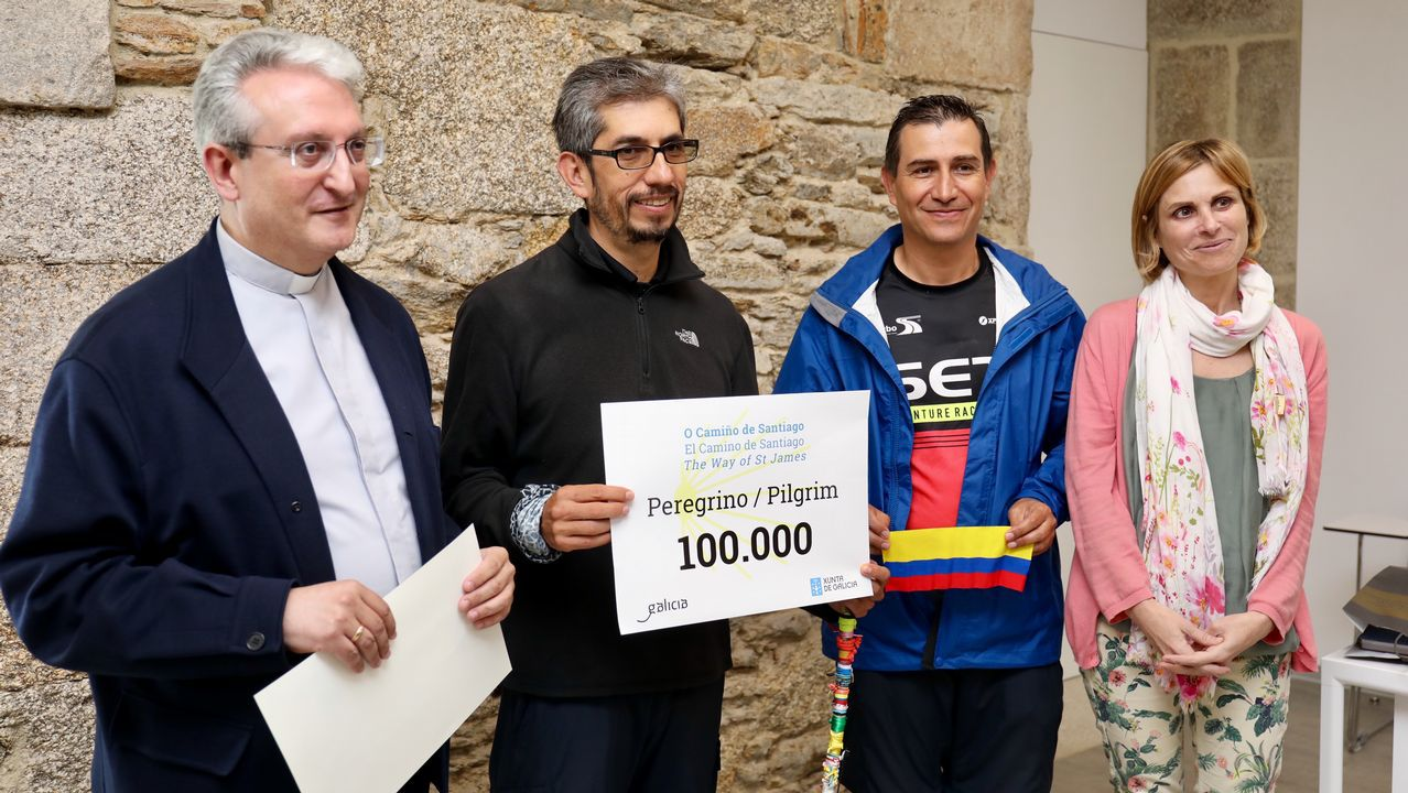 El Camino de Santiago recibe a su peregrino 100.000.