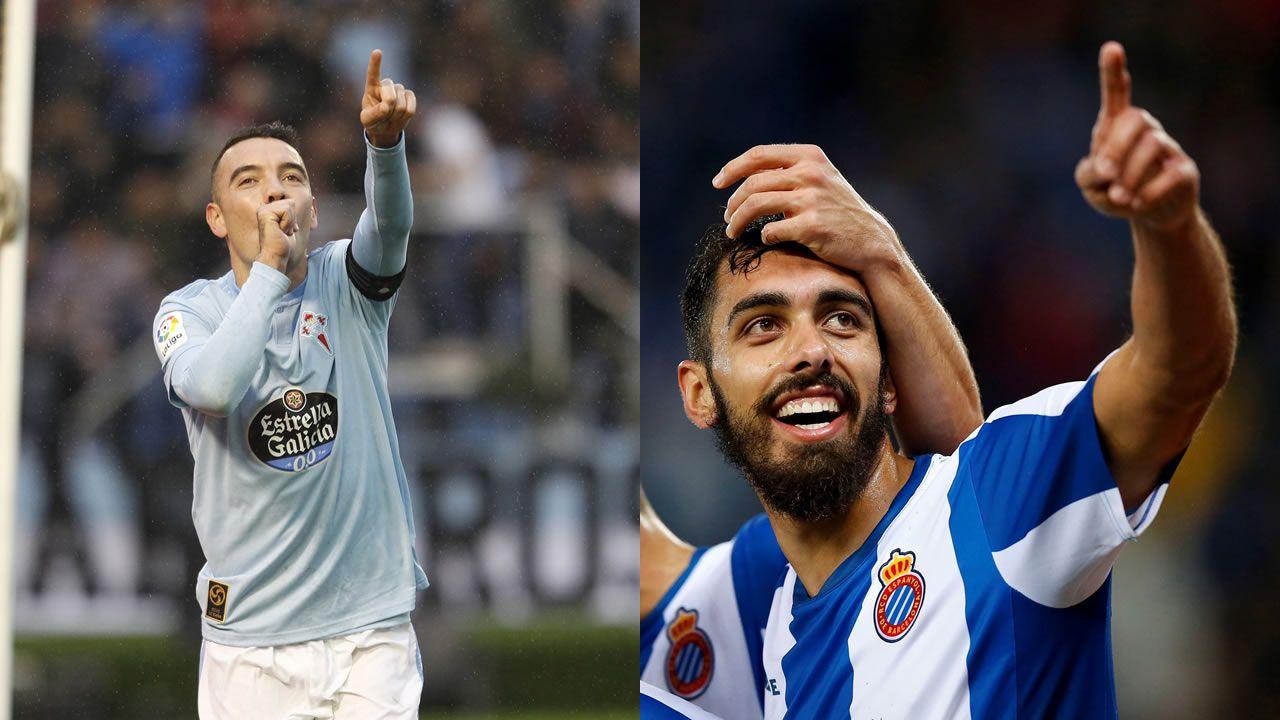 Joselu Requexon Real Oviedo.Derbi entre el Oviedo y el Sporting en el Tartiere en 2018